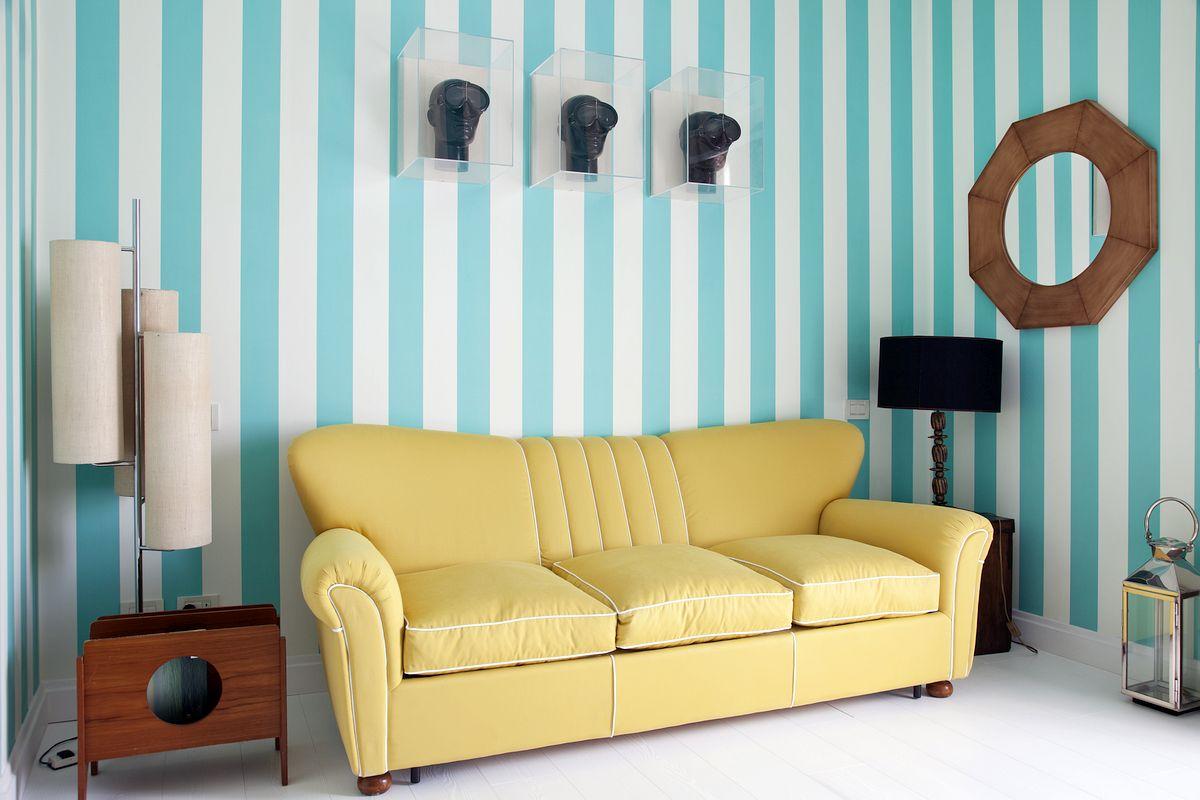 Bright and colorful decor