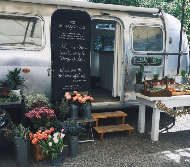 Airstream boutique in Portland