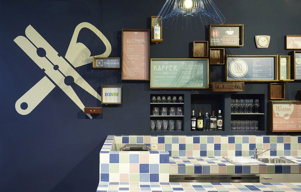 Tiled bar
