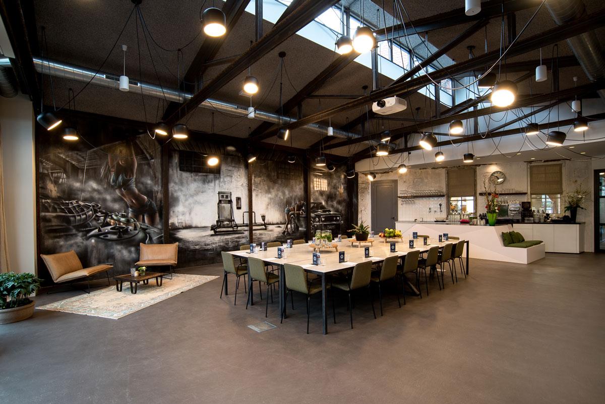 Industrial meeting space