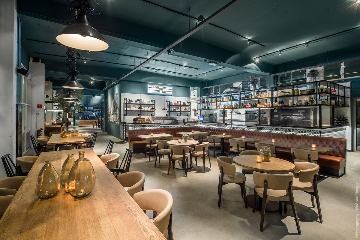 Stylish eatery in The Hague