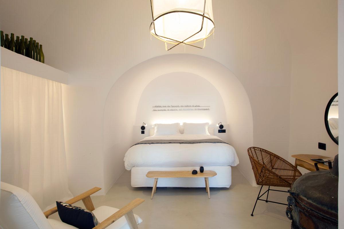 Winemaker's bedroom