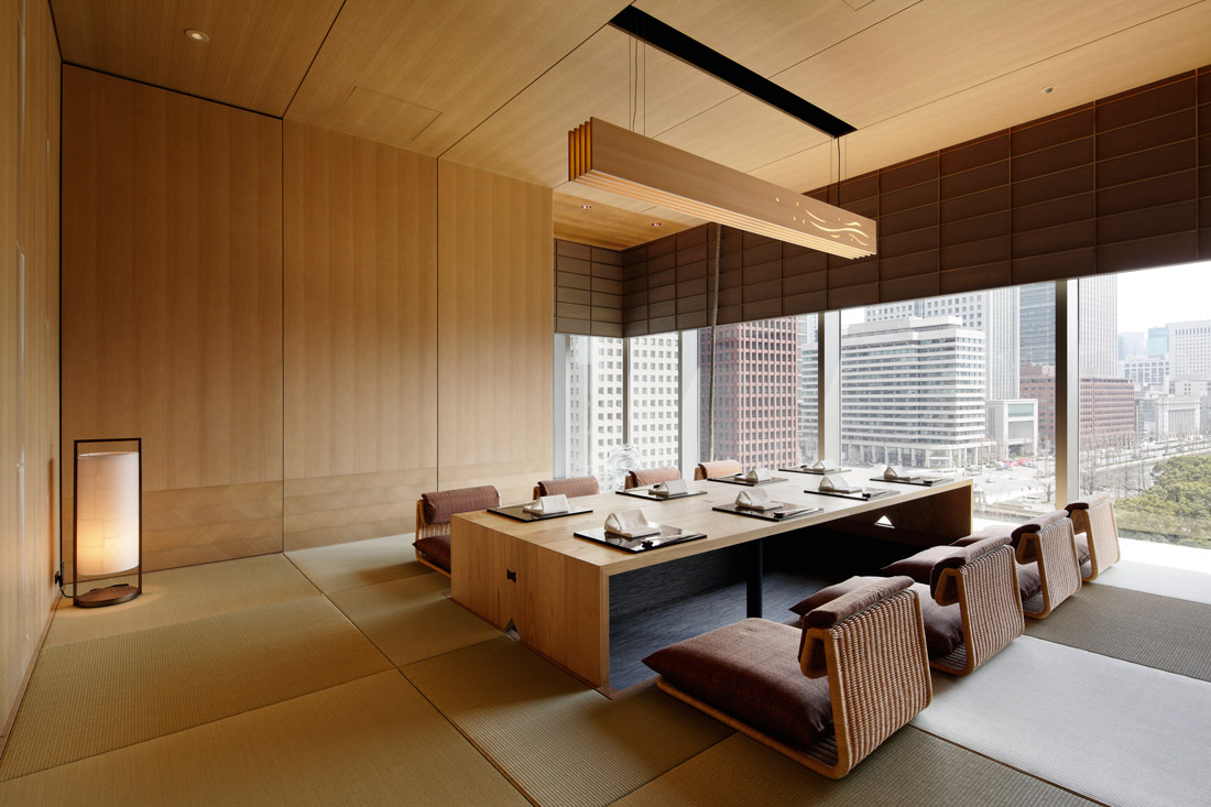 Private dining room at Wadakura