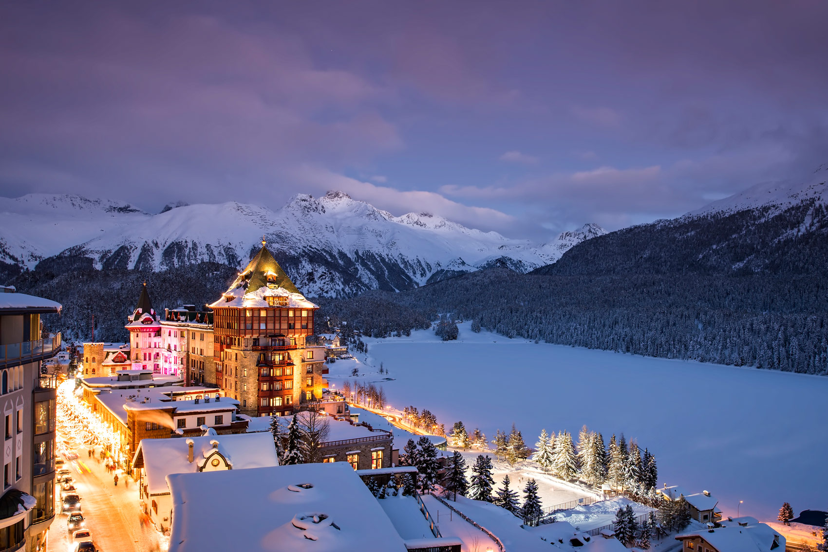 The very best luxury hotels in st moritz for Very luxury hotels