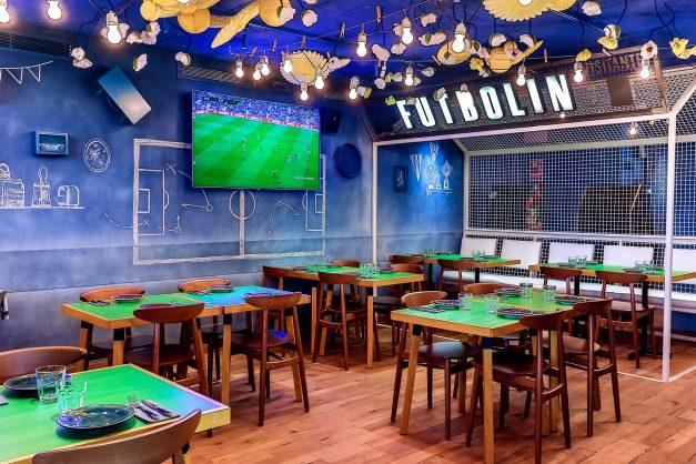 Football-themed bar