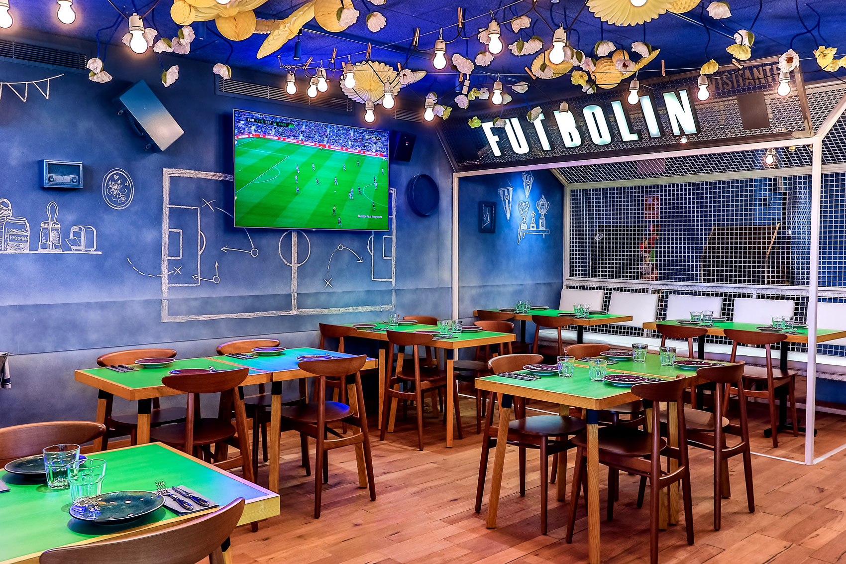 Football-themed bar