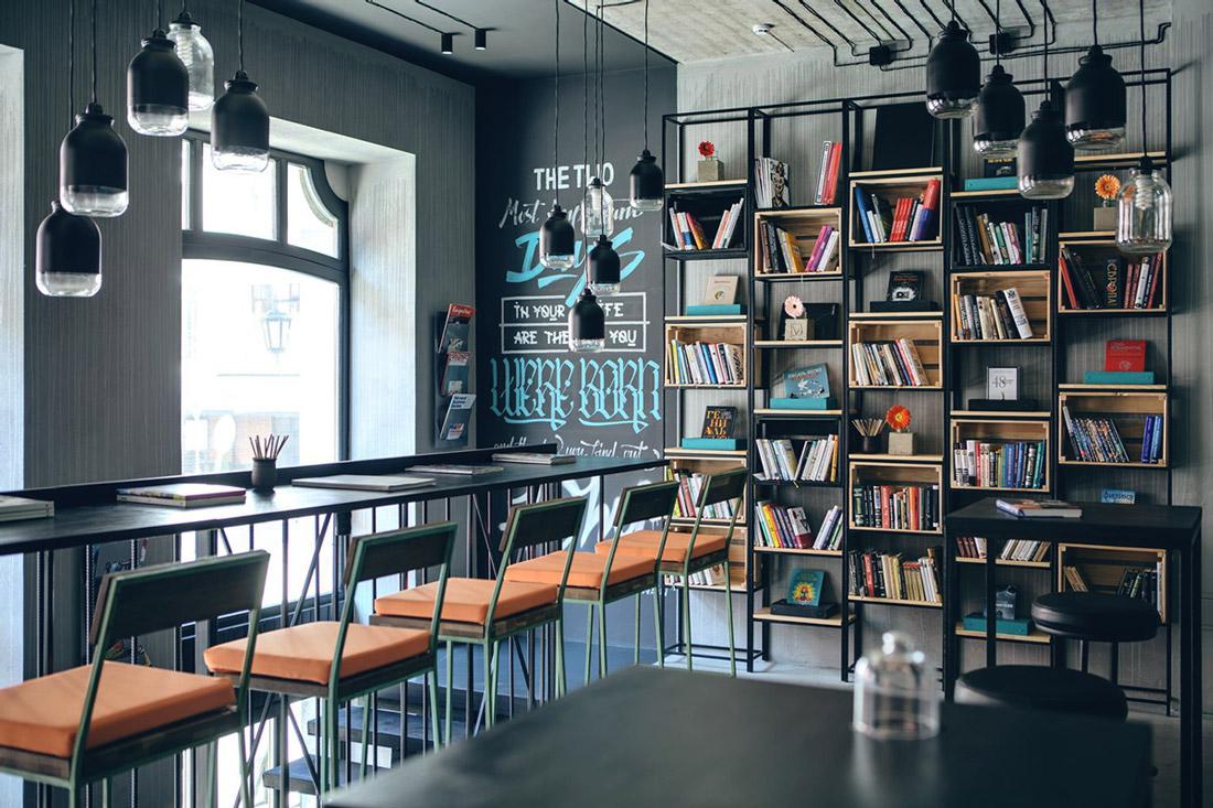 Modern library in Kiev