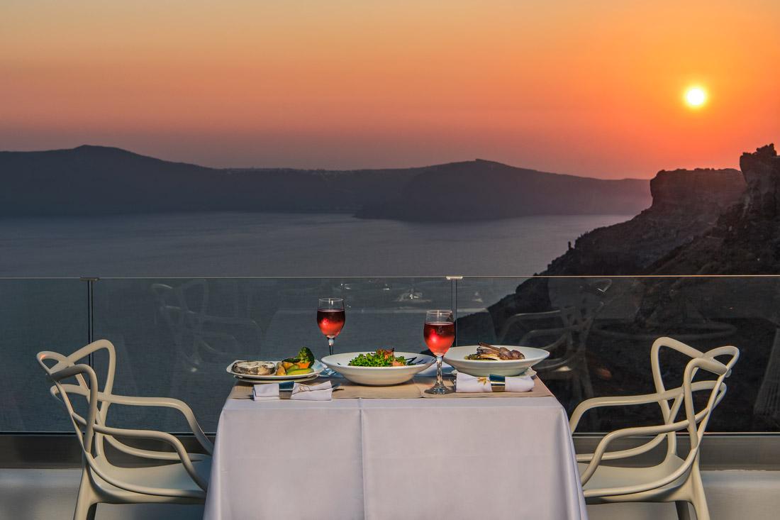 Romantic private dinner