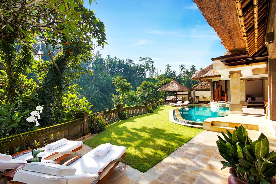 Palatial villa in Bali