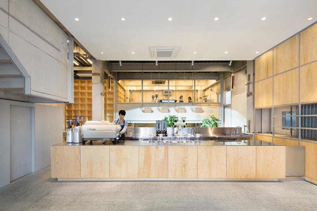 Minimalist Cafe in Tokyo