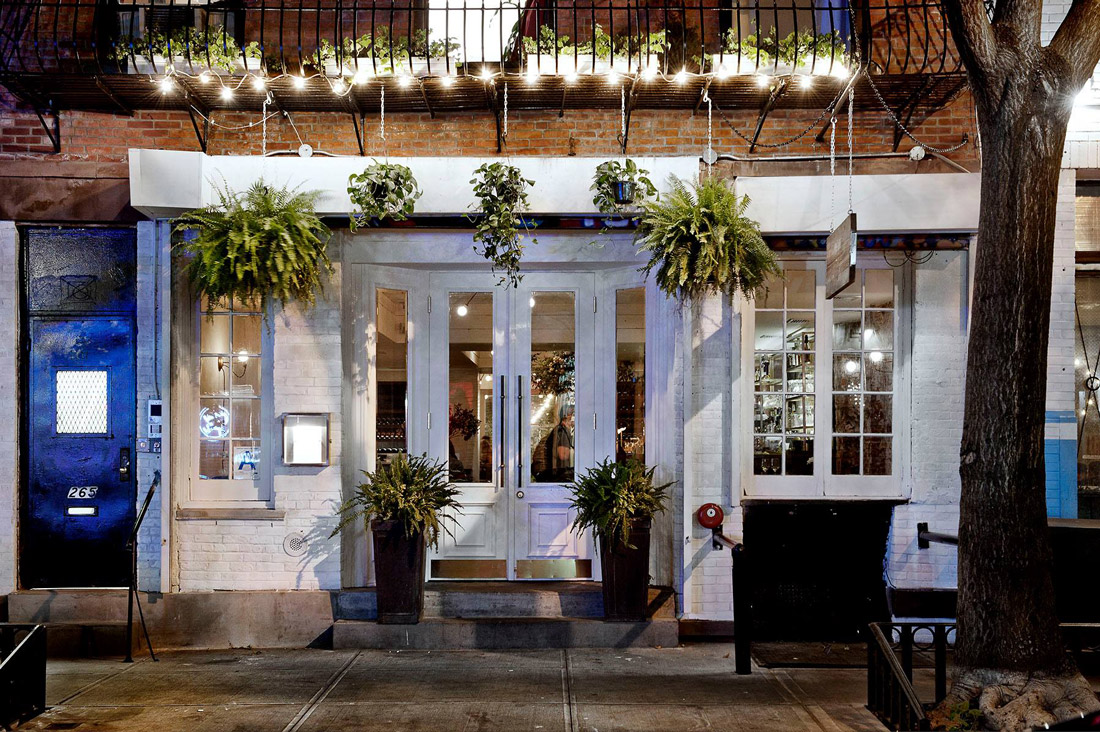 Restaurant on Elizabeth Street, NYC