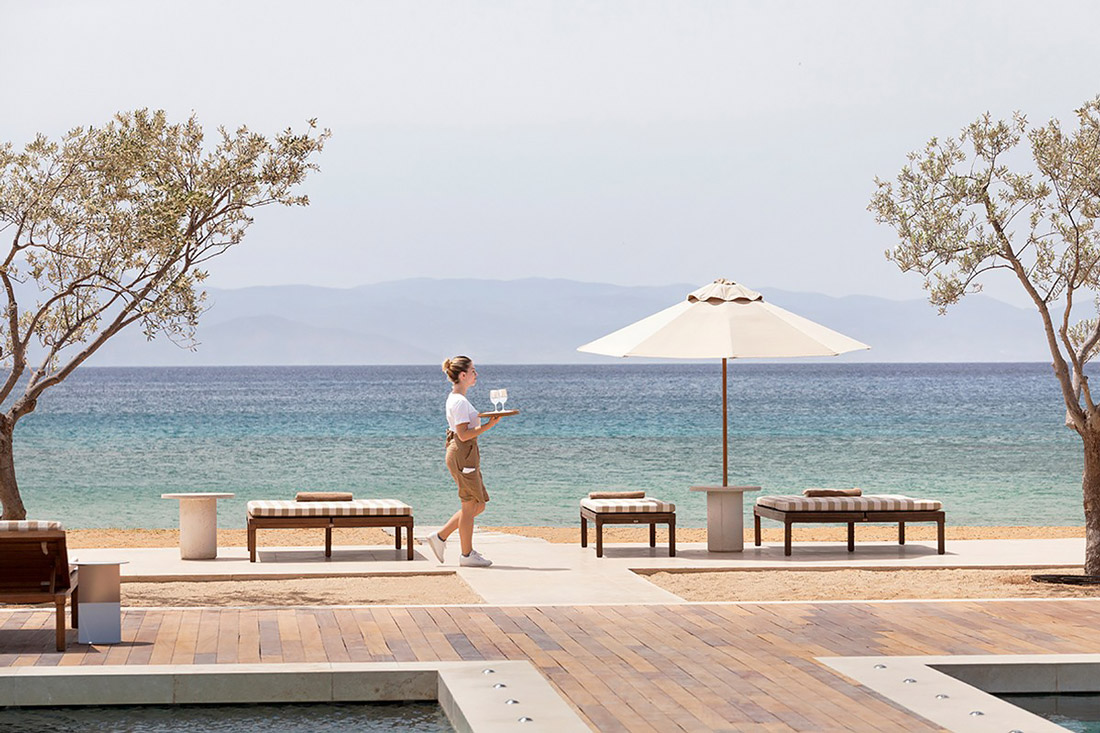 Luxury Beach Club at Amanzoe