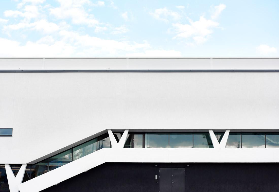 IKEA Museum's minimalist facade