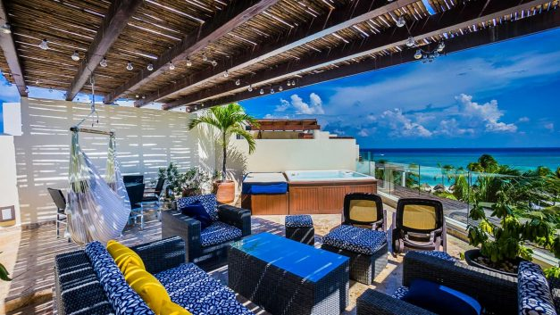 Luxury penthouse in Playa del Carmen