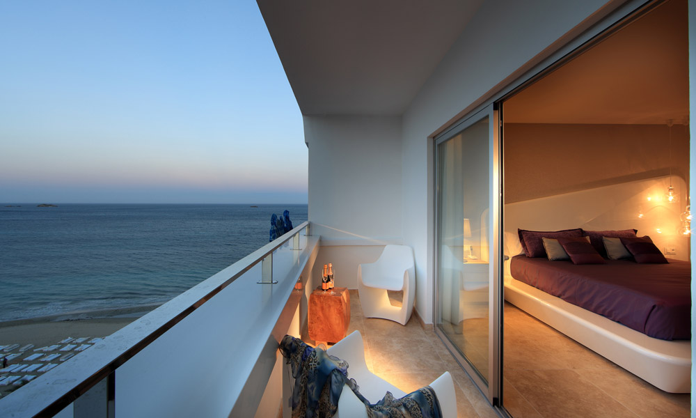 Balcony in Ibiza
