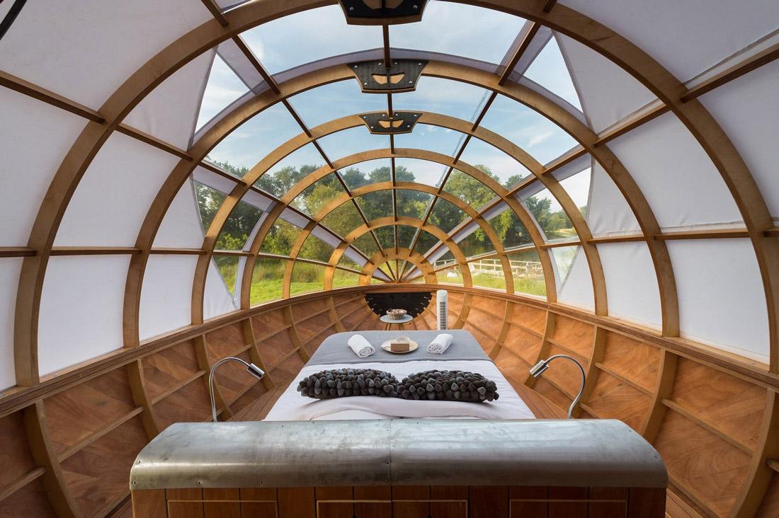 Unique sleeping accommodation