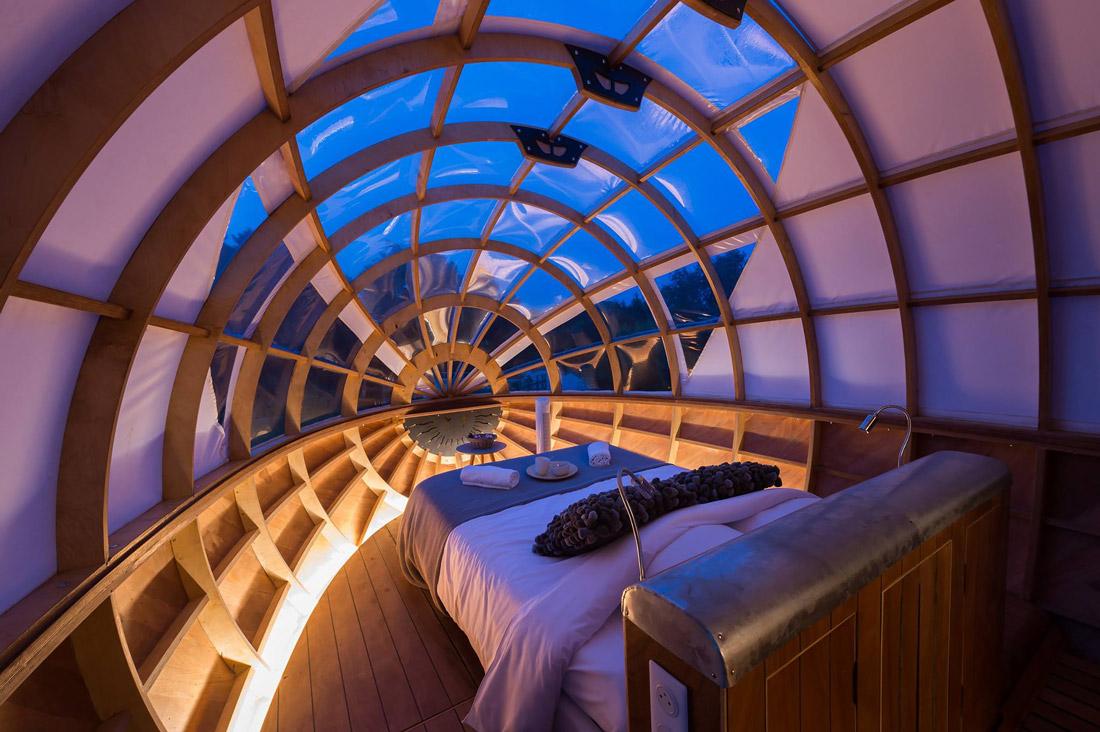 Cockpit bedroom