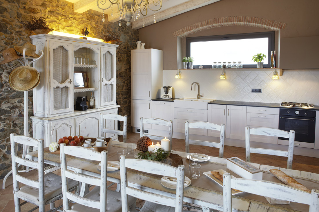 Charming Catalan kitchen