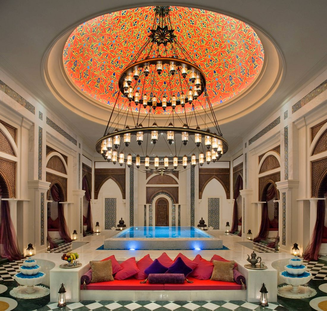 The biggest hammam in the Middle East