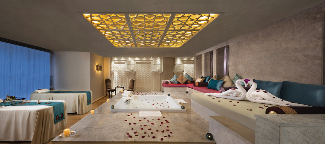 Opulent spa in Dubai